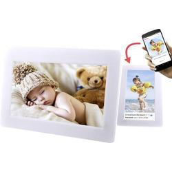 Denver PFF-1010 White Digitaler WiFi-Bilderrahmen 25.4cm 10 Zoll 1024 x 600 Pixel 8GB Weiß