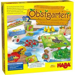 Haba Spielesammlung, Meine große Obstgarten-Spielesammlung, Made in Germany