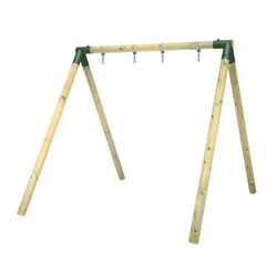 Wickey Doppelschaukel Schaukelgestell Moonwalker - Schaukel, Schaukelgerüst, Kinderschaukel, Holzschaukel