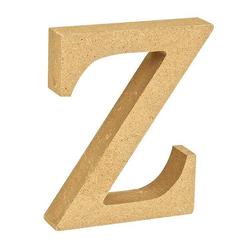 """VBS Buchstaben """"MDF"""" 8 cm x 1,5 cm bunt Buchstabe """"Z"""""""