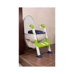 KidsKit Toilettentrainer Toilettentrainer 3 in 1, bunt blau