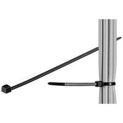 100 fixPOINT Kabelbinder schwarz