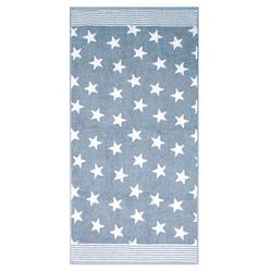 Dyckhoff Handtuch Stars blau