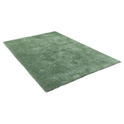 Hochflor Teppich - Soft Uni (Light Green)