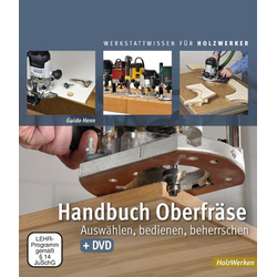 Handbuch Oberfräse als Buch von Guido Henn