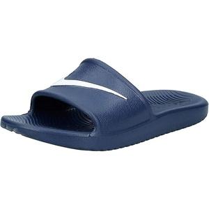 Nike Herren Kawa Shower Dusch-& Badeschuhe, Blau (Bleu Nuit Marine/blanc), 42.5 EU