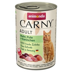 ANIMONDA Carny Adult Huhn Pute und Kaninchen 400 g