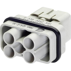 Harting 09 12 006 3041-1 Stifteinsatz Han® Q 4 + 2 + PE Crimpen 1St.
