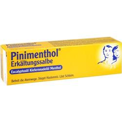 PINIMENTHOL Erkältungssalbe Eucalyp/Kiefernad/Ment