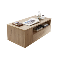 Wohn-Concept Couchtisch Bajazzo Two in Artisan-Eiche-Optik