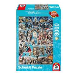 Schmidt Spiele Puzzle Hollywood XXL Renato Casaro, 3000 Puzzleteile
