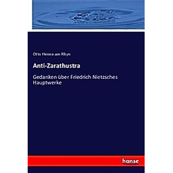Anti-Zarathustra. Otto Henne am Rhyn  - Buch