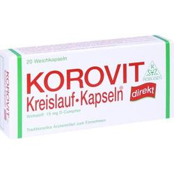 KOROVIT Kreislauf-Kapseln 20 St