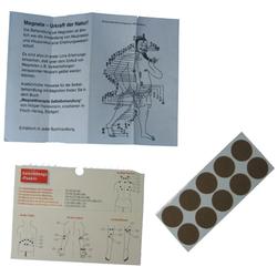 10 Stück Magnetplaster 600 Gaus Akupunktur Magnet Pflaster Therapie