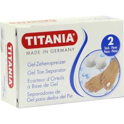 Zehenspreizer aus Gel Titania