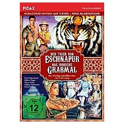Der Tiger von Eschnapur & Das indische Grabmal - DVD  Filme