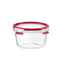 Emsa Frischhaltedose Glas Frischhaltedose rund Clip Close Glas, Glas, (1-tlg) 900 ml