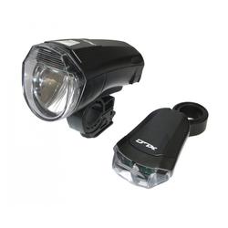 XLC Fahrradbeleuchtung XLC Beleuchtungsset CL-S14
