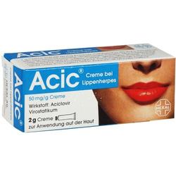ACIC Creme bei Lippenherpes 2 g