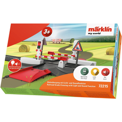 Märklin Modelleisenbahn-Übergang Märklin my world - Bahnübergang - 72215, Spur H0, Mit Licht- und Soundfunktion