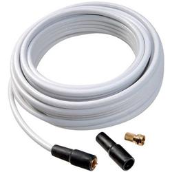 Vivanco 44061 Koaxialkabel 75Ω 110 dB Weiß 1 Set