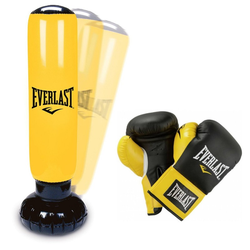 Everlast Standboxsack Power Tower KIDS SET (Farbe: Gelb)