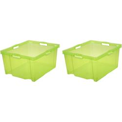 keeeper Aufbewahrungsbox franz (Set, 2 Stück) grün