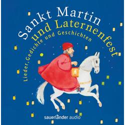 Sankt Martin und Laternenfest als Hörbuch CD von