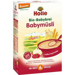 HOLLE Bio Babybrei Babymüsli