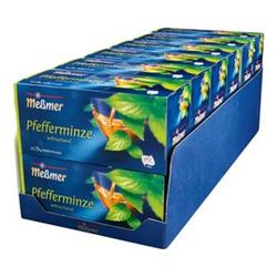 Meßmer Pfefferminztee 56,25 g, 12er Pack