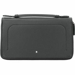 Montblanc Meisterstück Soft Grain Herrenhandtasche Leder 22 cm black