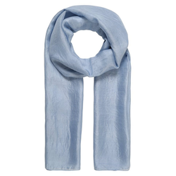er piu Schal aus feiner Seide blau