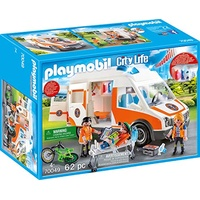 Playmobil City Life Rettungswagen mit Licht und Sound (70049)