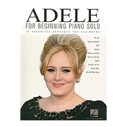 For Beginning Piano Solo. Adele  - Buch