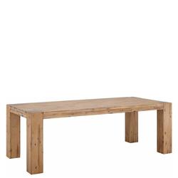 Massivholztisch aus Akazie lackiert Esszimmer