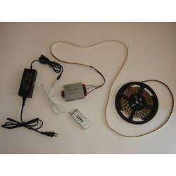 LED Lichtband Strip 5m 360 2Chip LED weiß Lauflicht