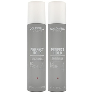 Goldwell Big Finish Volume Hairspray 9.2 Oz. Set of 2 by Goldwell