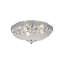 lux.pro Deckenleuchte, Molde Kristalleuchte Deckenlampe Ø40cm
