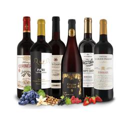 Kleines französisches Genuss-Rotwein-Paket