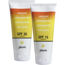 Plum Sun Cream Sonnencreme, Sonnencreme mit Schutz vor UV-A und UV-B Strahlen, 200 ml - Tube, LSF 30
