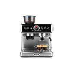 BEEM Siebträgermaschine ESPRESSO-GRIND-PROFESSION Espresso-Siebträgermaschine mit Mahlwerk - 15 bar schwarz