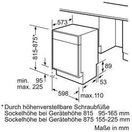 Bosch Serie 4 SMU46KS03E
