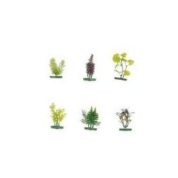 Plastikpflanzen für Aquarien, sehr Naturgetreu, klein für den Vo
