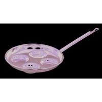 RIESS Schwarzemail Augenpfanne  20 cm