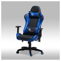ebuy24 Gaming-Stuhl Gamer Stuhl Wild und Bürostuhl in blauen und schwa