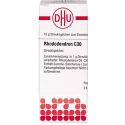 RHODODENDRON C 30 Globuli 10 g