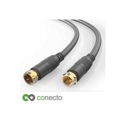 conecto conecto HQ SAT Antennenkabel - 4K UHD 1080p FULL SAT-Kabel