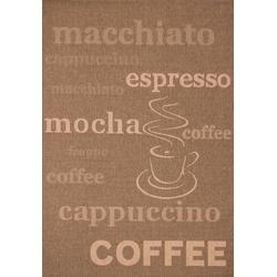 Küchenteppich Uppsala - Coffee - (Kaffee; 160 x 230 cm)