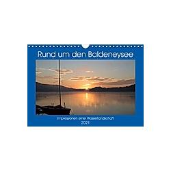 Rund um den Baldeneysee (Wandkalender 2021 DIN A4 quer)