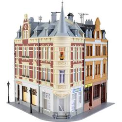 Kibri 38295 H0 Stadthaus mit Figur und Hausbeleuchtungs-Startset